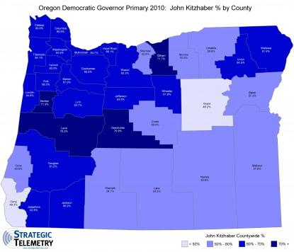 2010 Oregon Democratic Gubernatorial Primary